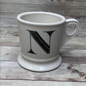 Anthropologie initial Mug N